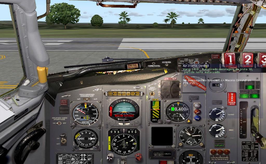 De Maceió-AL (SBMO)BR para Fort Lauderdale (KFLL)-EUA Foto3cab30mco
