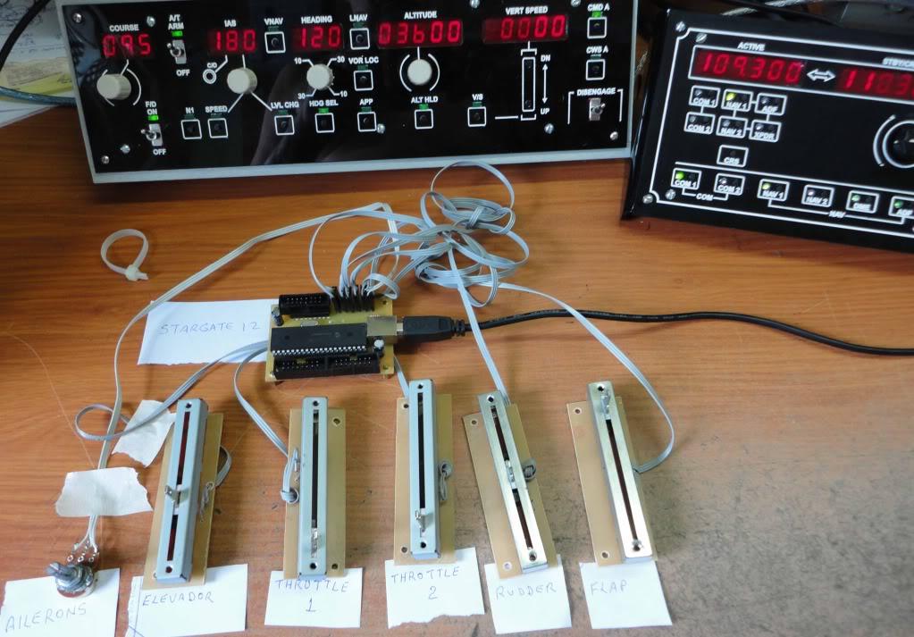 Teste de componentes na placa Stargate 12 Foto6placacomponent