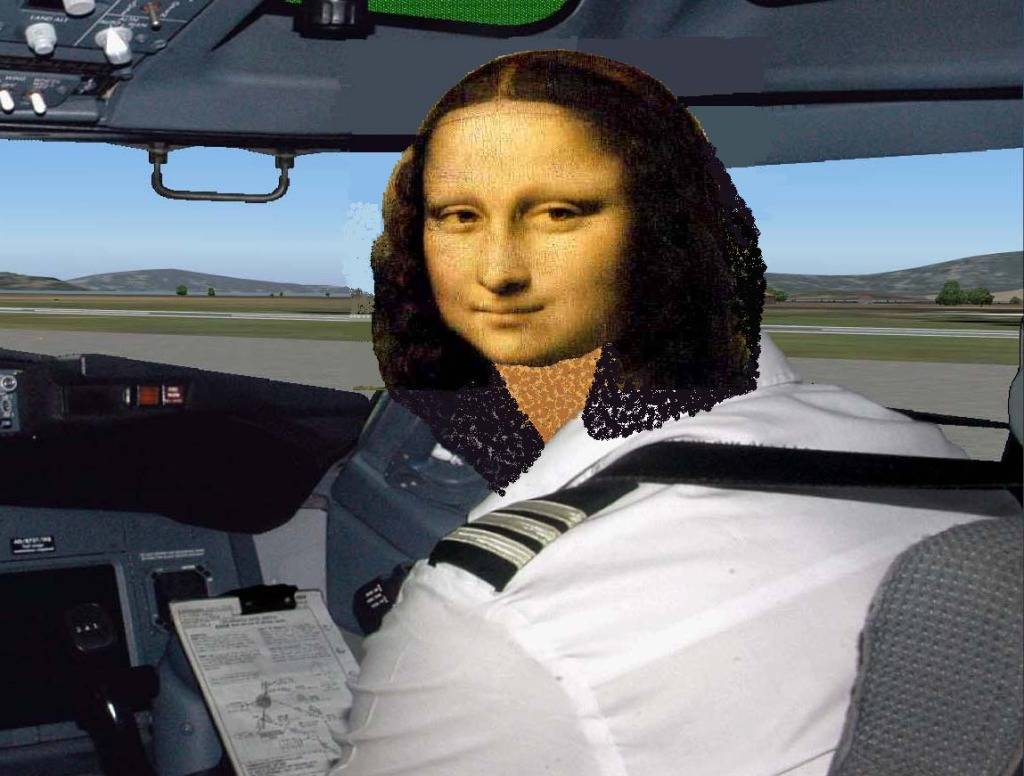 Humanos no Cockpit, o que você acha sobre isso ? - Página 2 Monalisacopila