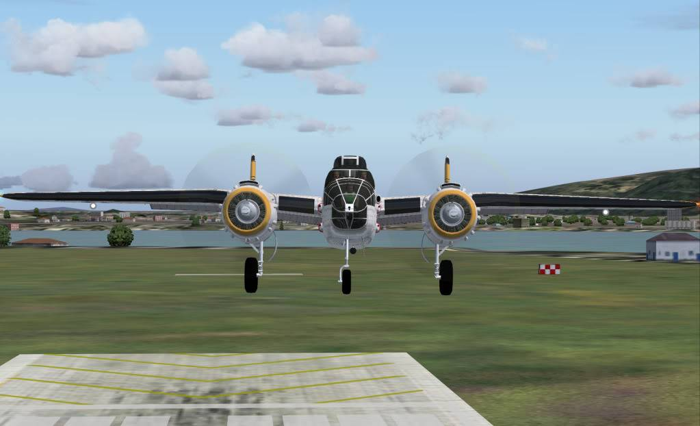 [FS9] Voando com o Mitchell B25 Pousomitchell
