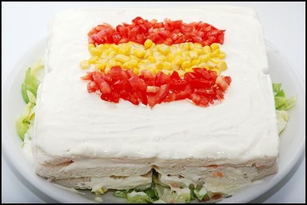 "Pastel salado para animar a ""la Roja"" PicoteoFutbol3"
