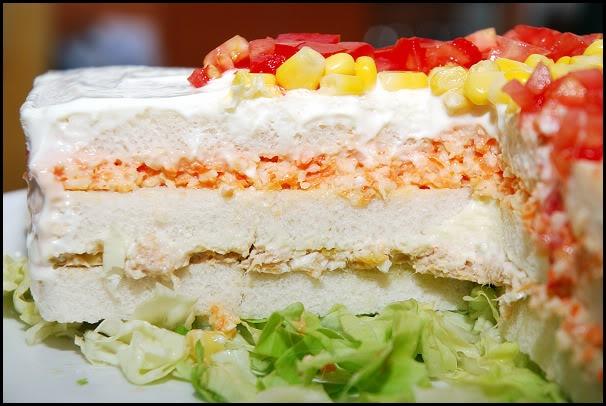 "Pastel salado para animar a ""la Roja"" PicoteoFutbol4"