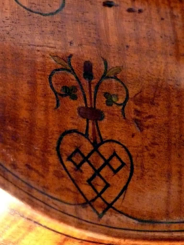 Inlaid Purfling Violin_alem_flower