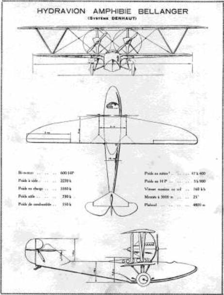 Denhaut & Bellanger-Denhaut Aircraft & Projects BDAmphibian_zps30aee7bb