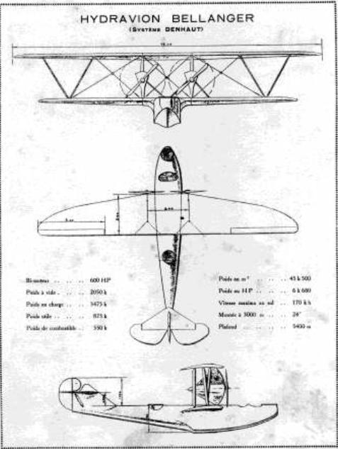 Denhaut & Bellanger-Denhaut Aircraft & Projects BDFlyingBoat_zps4e6863da