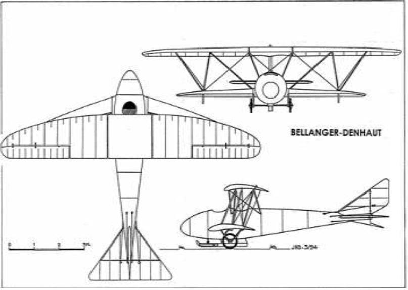 Denhaut & Bellanger-Denhaut Aircraft & Projects BDGlider1_zps62093743