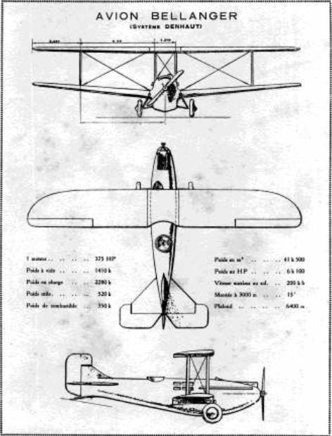 Denhaut & Bellanger-Denhaut Aircraft & Projects BDtourist_zpsa1d9feef