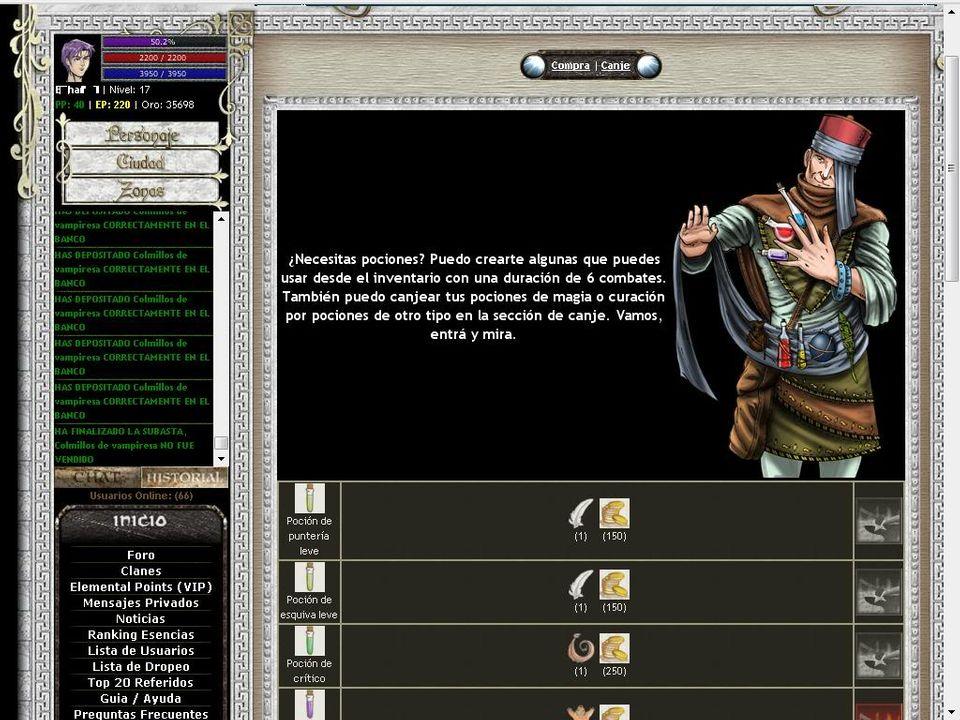 emental War juego argentino de rol online Alquimista