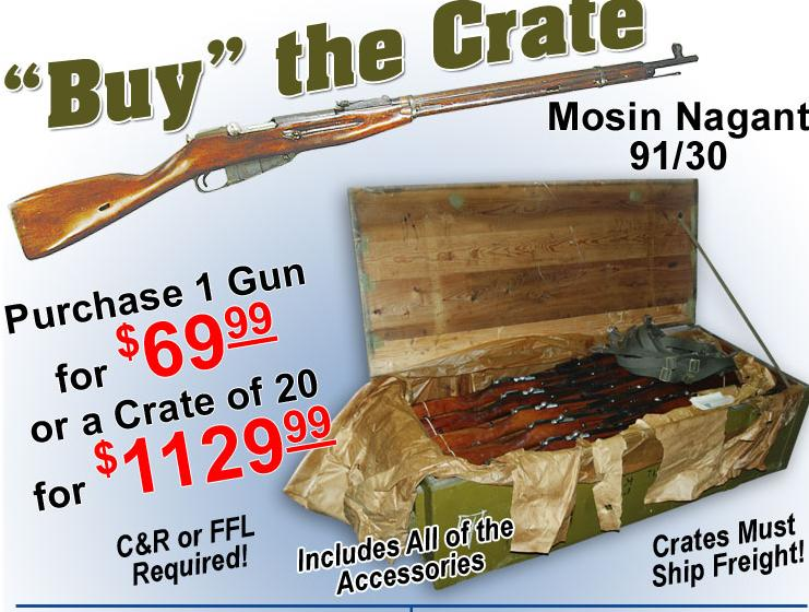 Fusil d'infanterie Mosin 91-30 Buythecrate