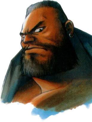 Final Fantasy BarretCara