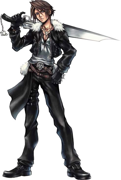 Final Fantasy Squall-dissidia