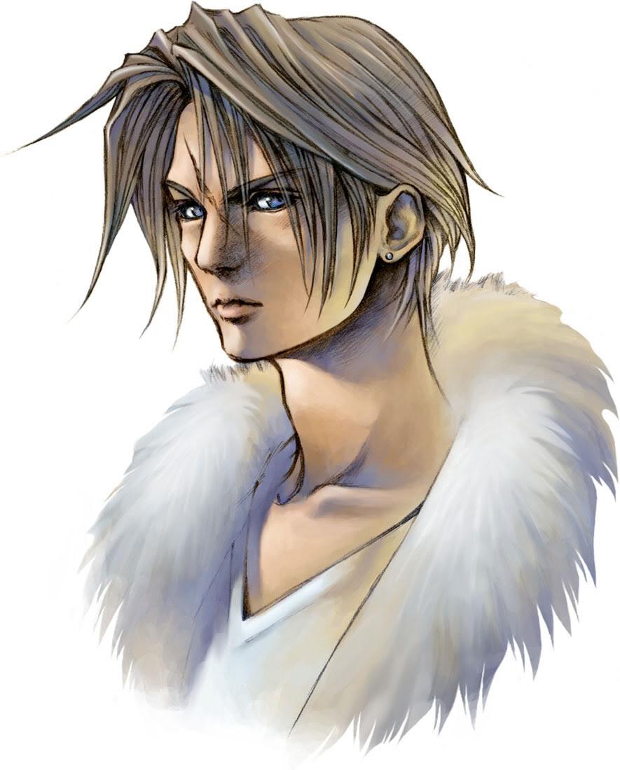 Final Fantasy SquallCara