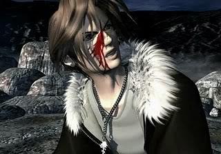 Final Fantasy Squall_Leonhart_bleeding