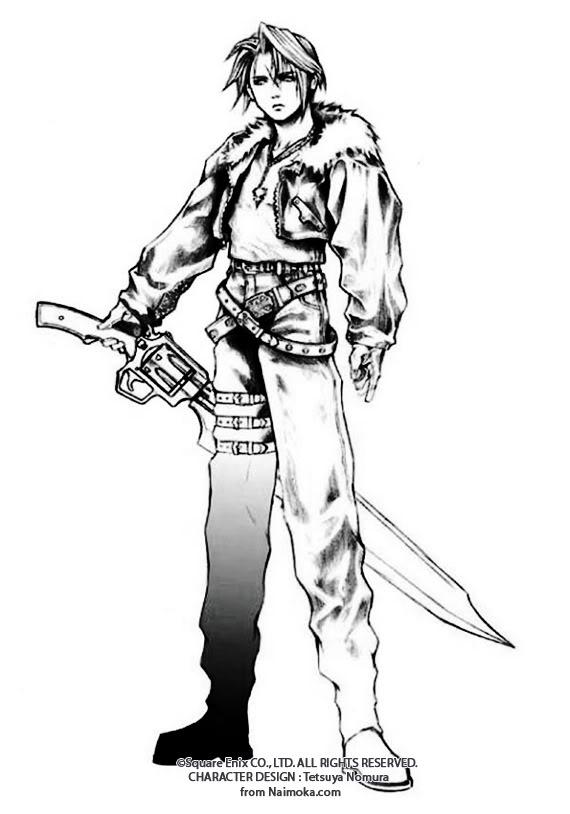 Final Fantasy Squall_Sketch