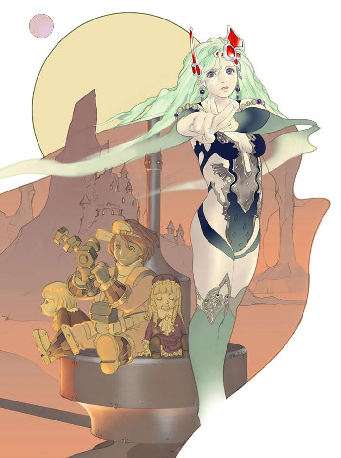 Final Fantasy Ff4tay-illust01