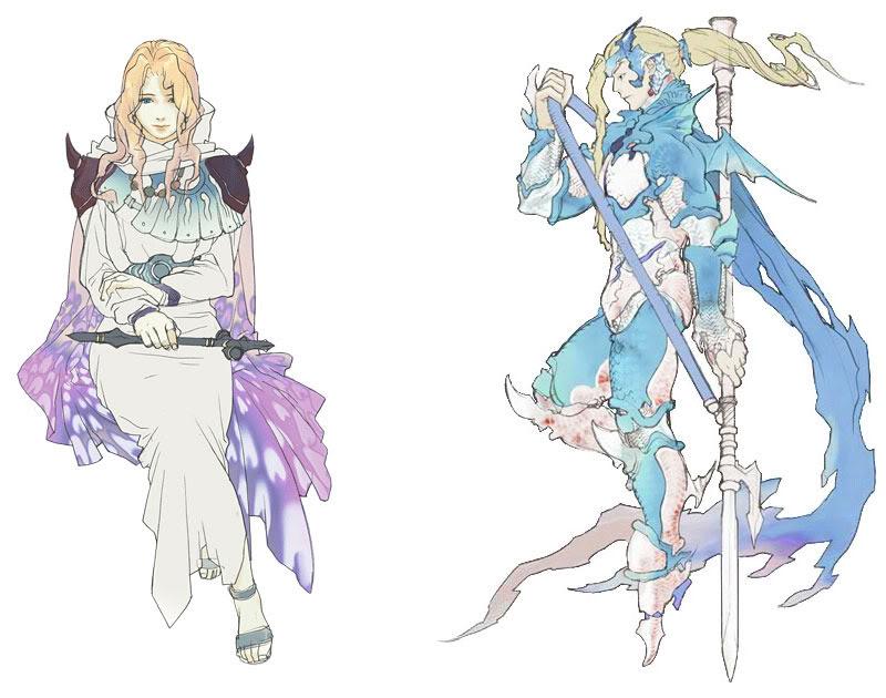 Final Fantasy Rosa-and-kain