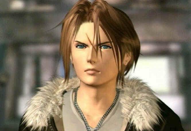 Final Fantasy Squall-2