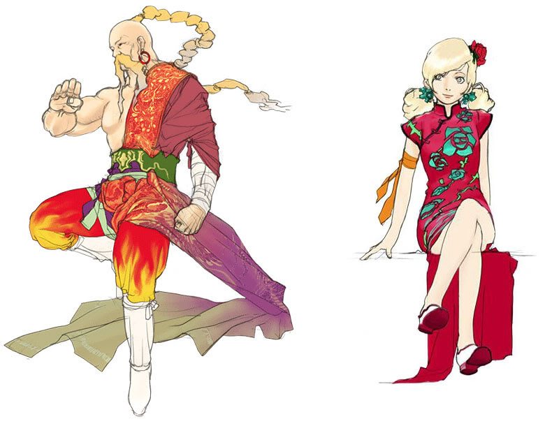 Final Fantasy Yang-and-ursula