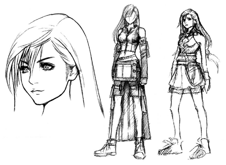 Final Fantasy Tifa-concept