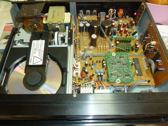 Marantz CD-94  [Sold] Inside