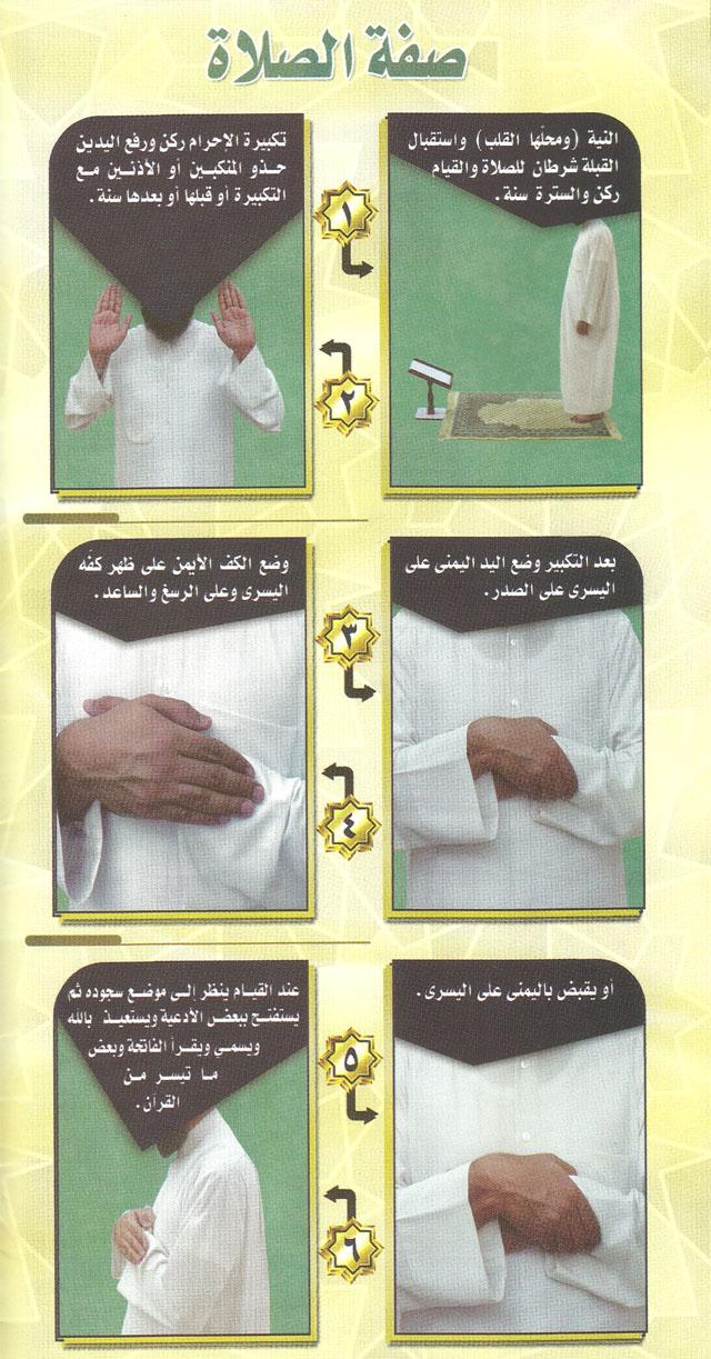 صحح وضوءك وصحح صلاتك من خلال هذه الصور المبسطة الميسرة 1-4