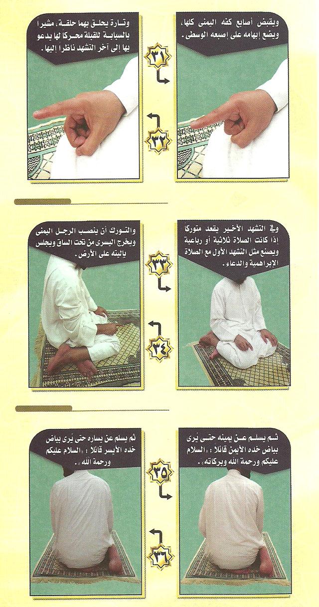صحح وضوءك وصحح صلاتك من خلال هذه الصور المبسطة الميسرة 5-3