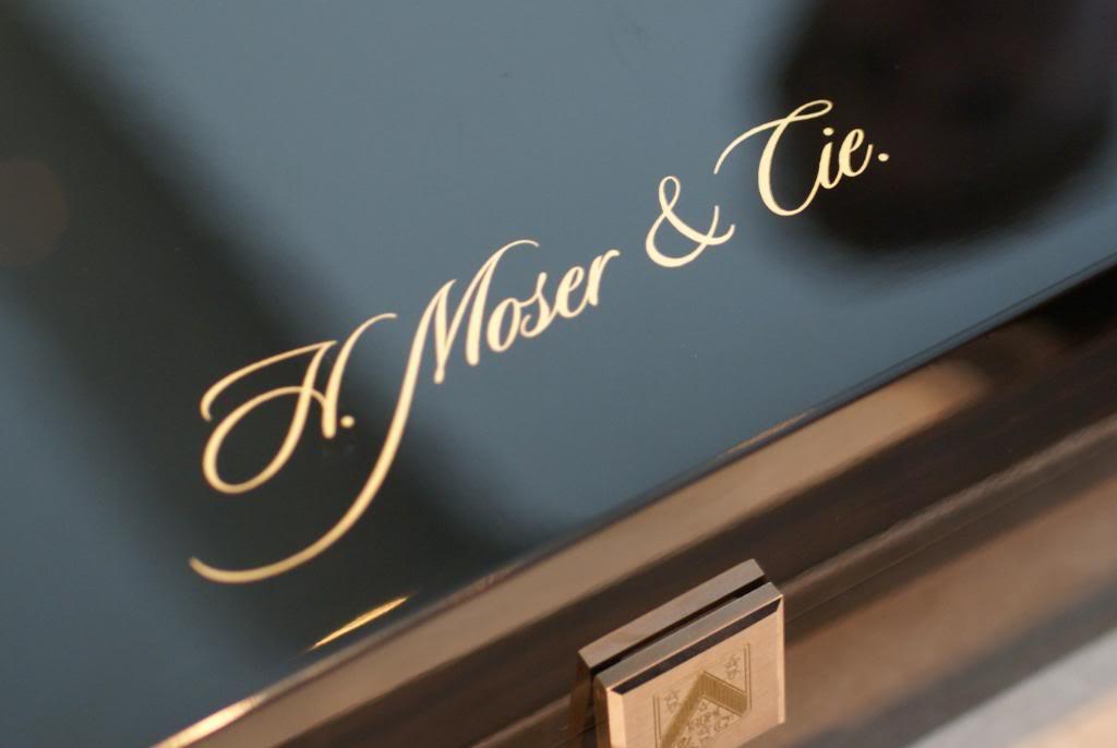 [MM en direct de Baselworld 2011] - Moser & Cie DSC08621