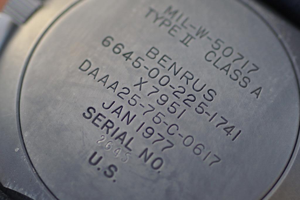 [Vendue] Benrus Type II class A - 1650 euros DSC01901