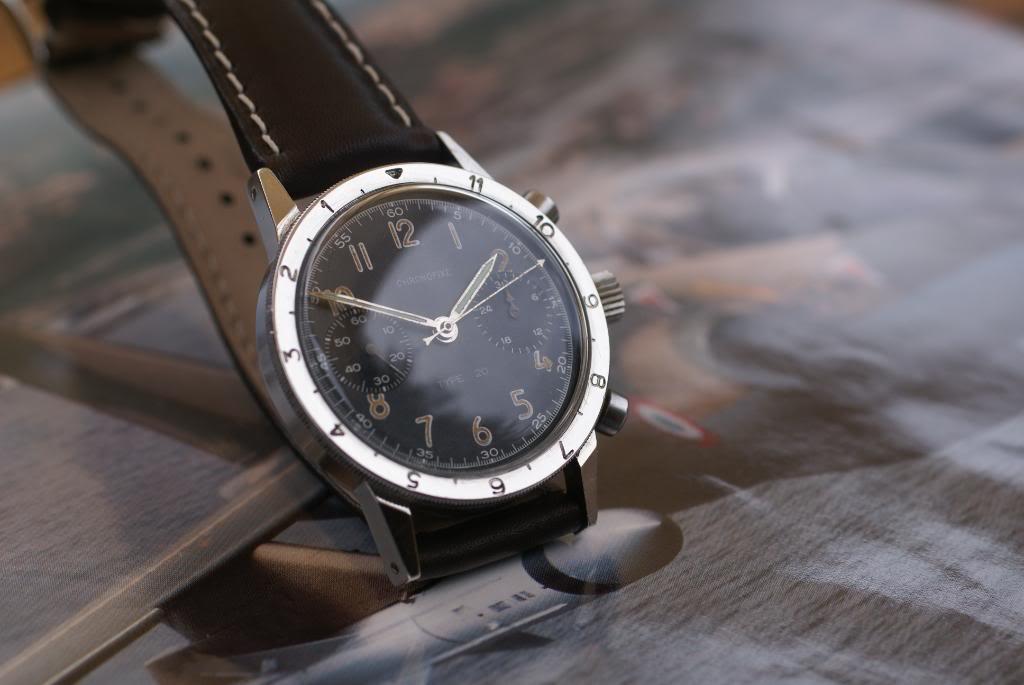 [Vendu] Chronographe Type 20 de marque Chronofixe - 1850€ DSC09551