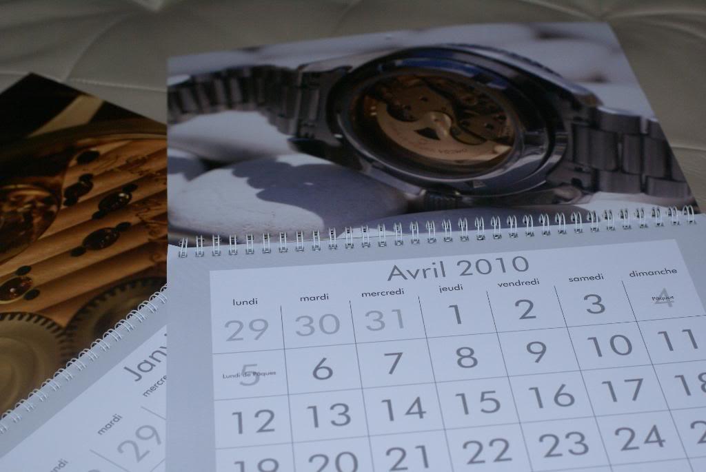 Mon calendrier 2010 personnalisé est arrivé ! DSC01296