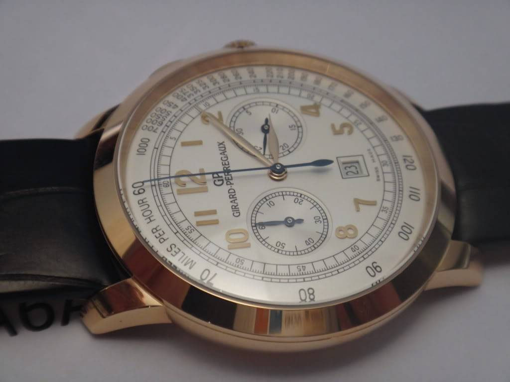 SIHH 2012 - Girard Perregaux 1966 chronographe date DSC01230