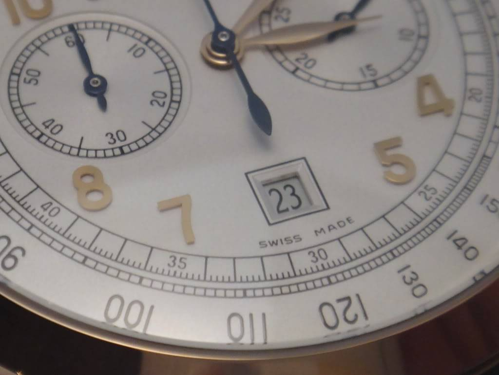 SIHH 2012 - Girard Perregaux 1966 chronographe date DSC01231