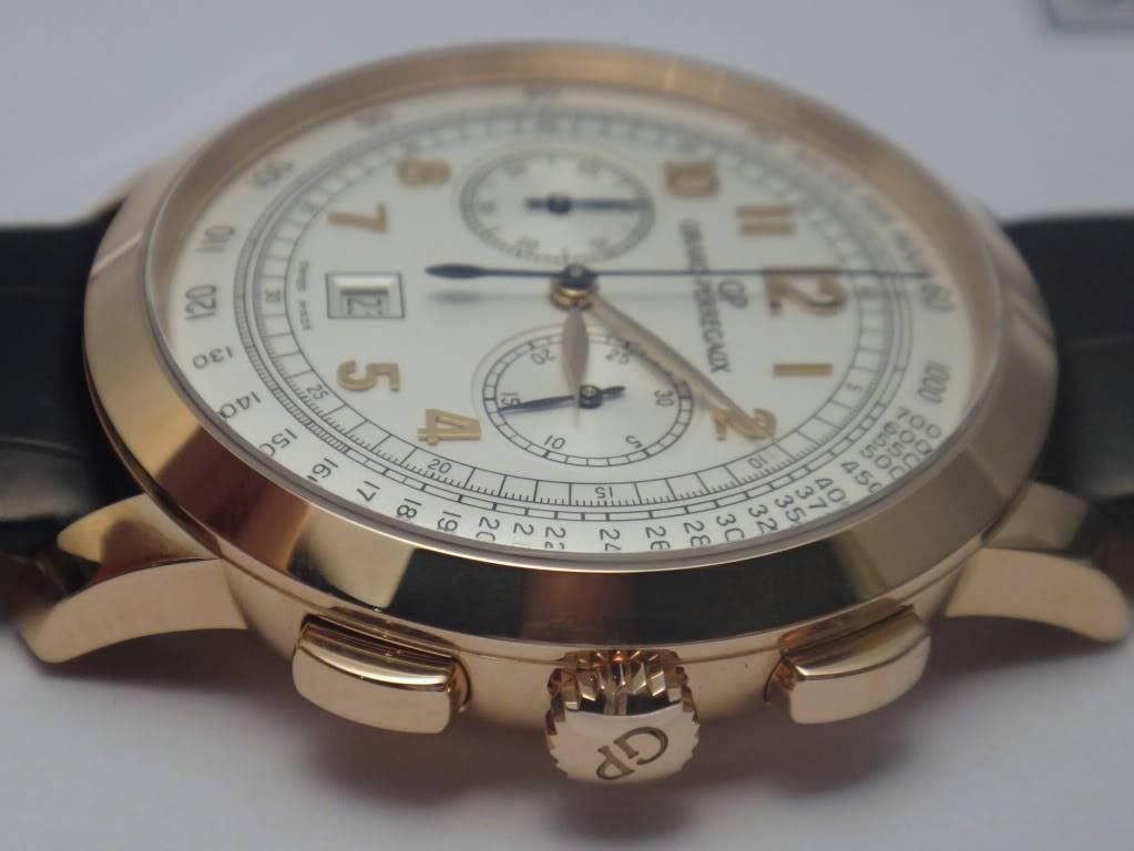 SIHH 2012 - Girard Perregaux 1966 chronographe date DSC01233