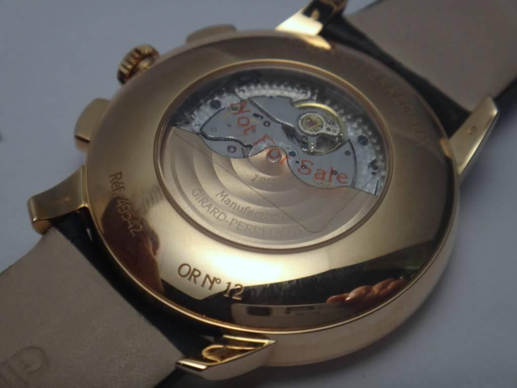 SIHH 2012 - Girard Perregaux 1966 chronographe date DSC01235