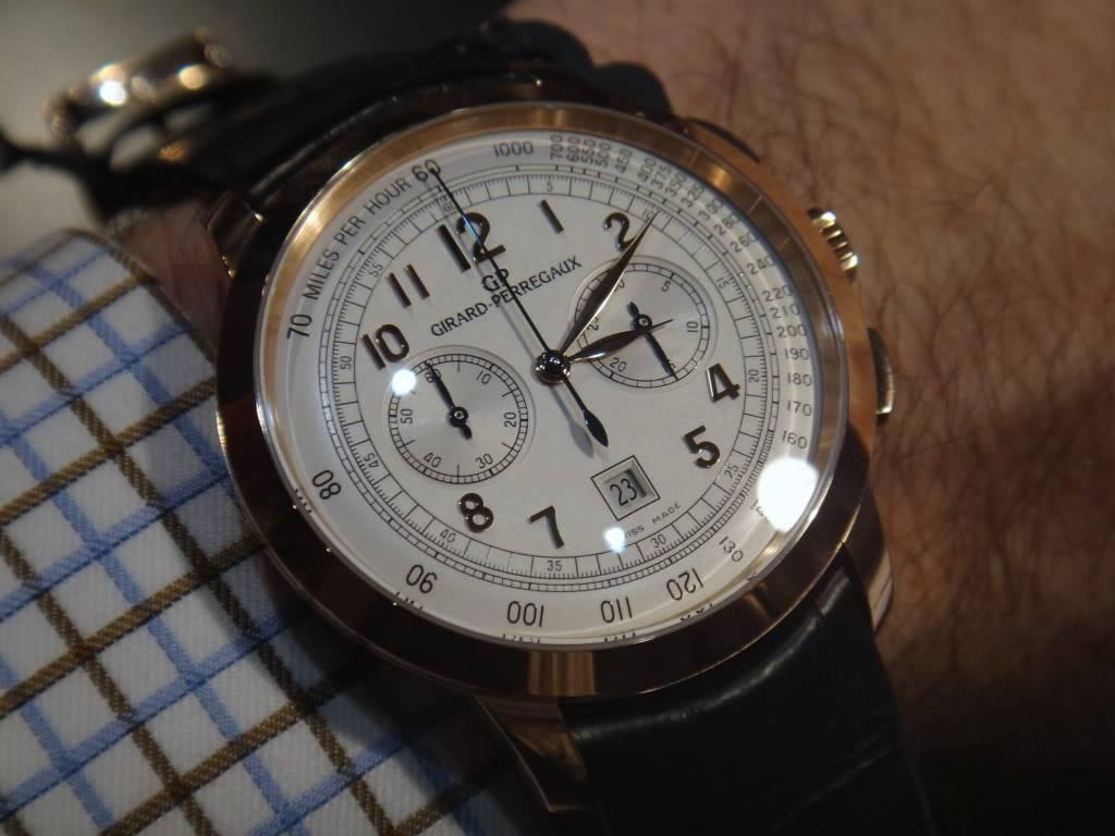 SIHH 2012 - Girard Perregaux 1966 chronographe date DSC01238