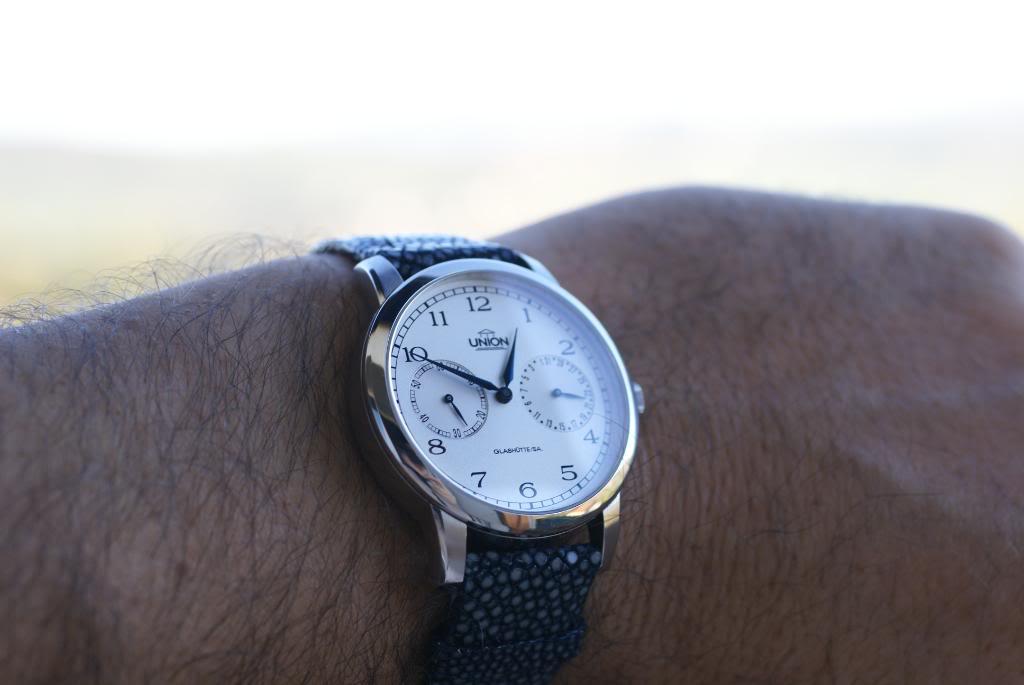 Bracelet en Galuchat DSC06865