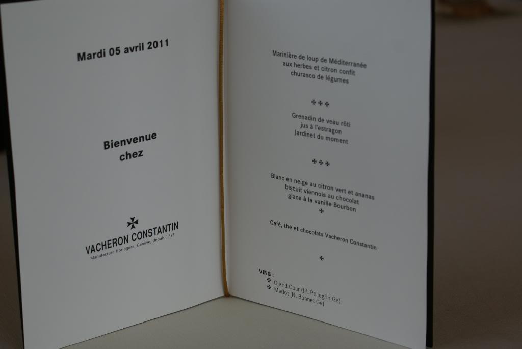 [Visite Manufacture Vacheron Constantin] - Part 1 : La Manufacture DSC09333