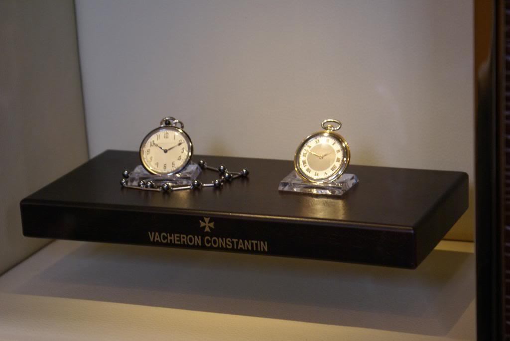 [Visite Manufacture Vacheron Constantin] - Part 3 : Le Musée DSC09490