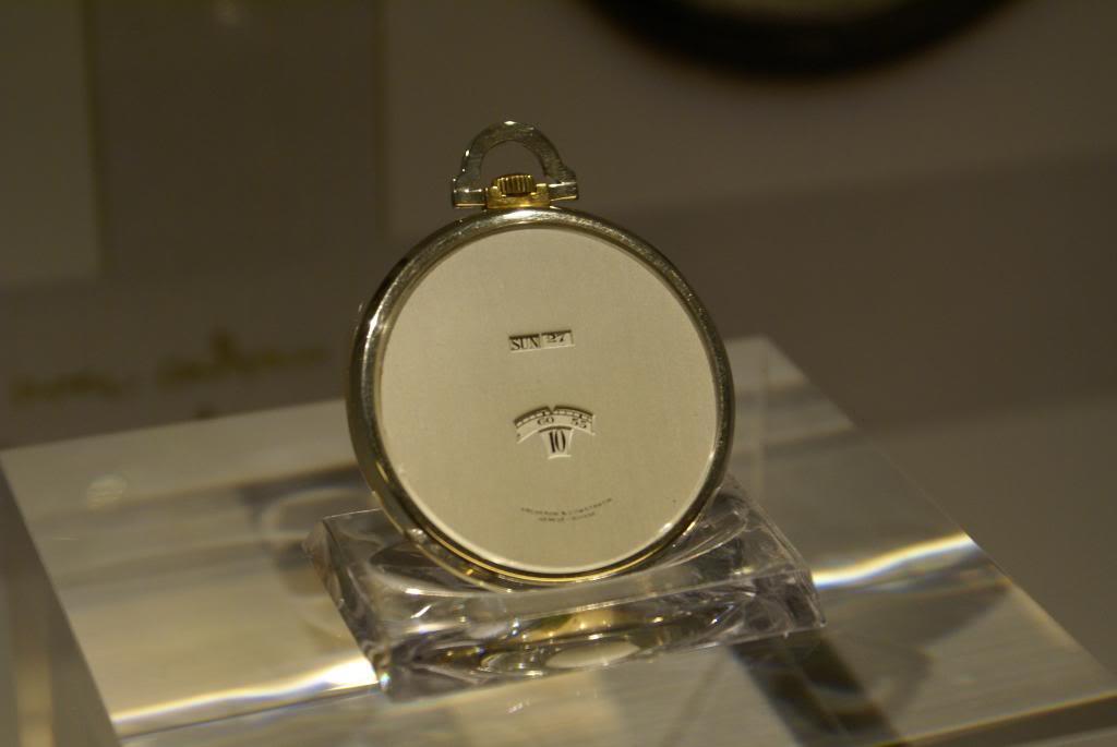 [Visite Manufacture Vacheron Constantin] - Part 3 : Le Musée DSC09509