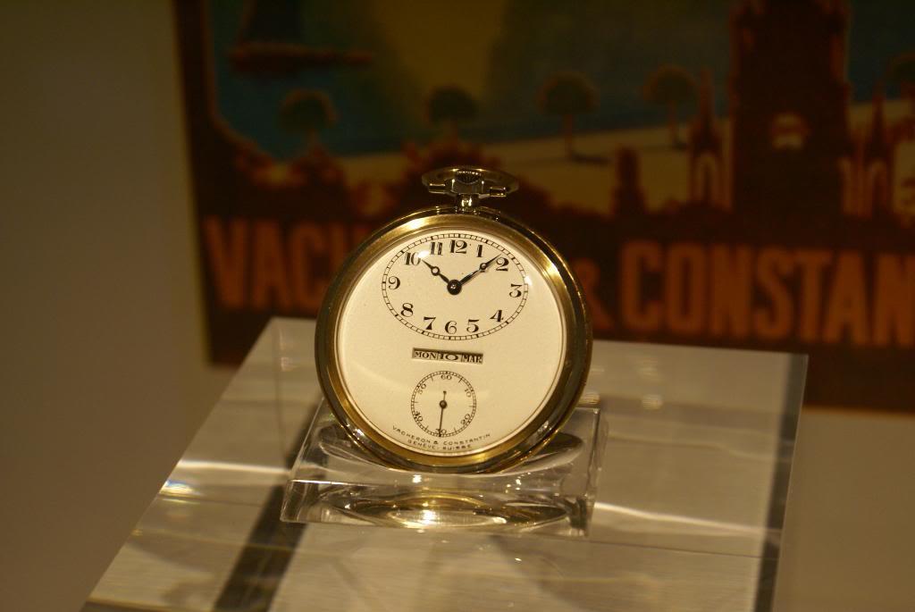 [Visite Manufacture Vacheron Constantin] - Part 3 : Le Musée DSC09511