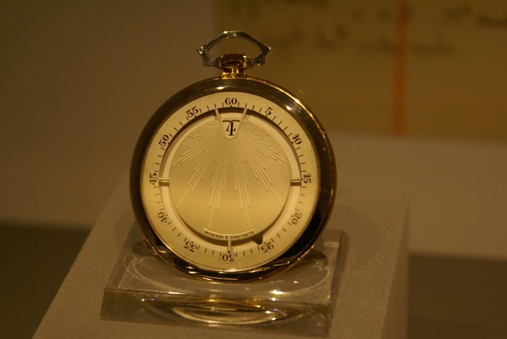 [Visite Manufacture Vacheron Constantin] - Part 3 : Le Musée DSC09513