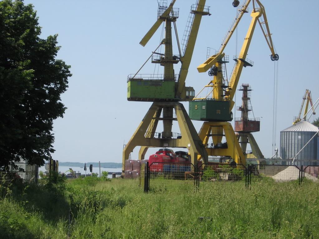 Liniile ferate industriale din Giurgiu 11