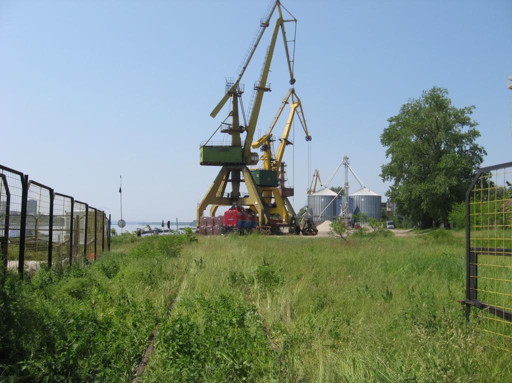 Liniile ferate industriale din Giurgiu 12