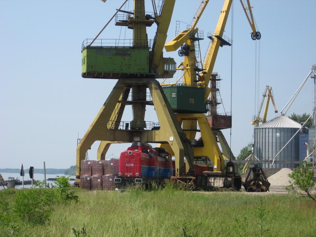 Liniile ferate industriale din Giurgiu 13