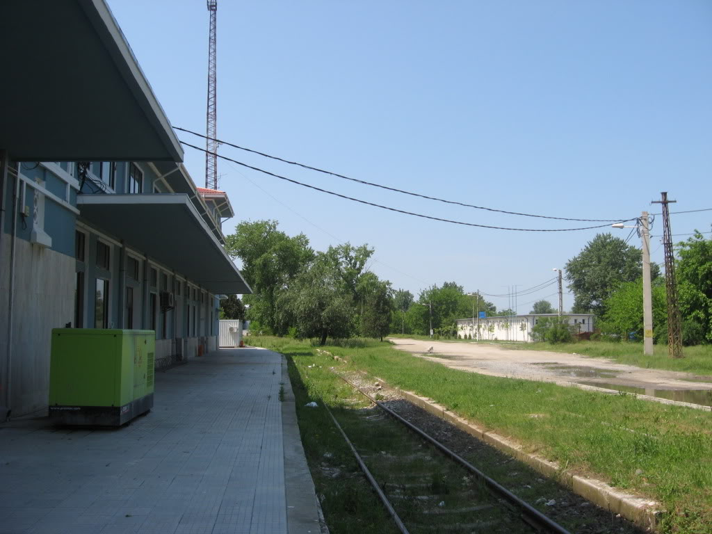 Liniile ferate industriale din Giurgiu 4