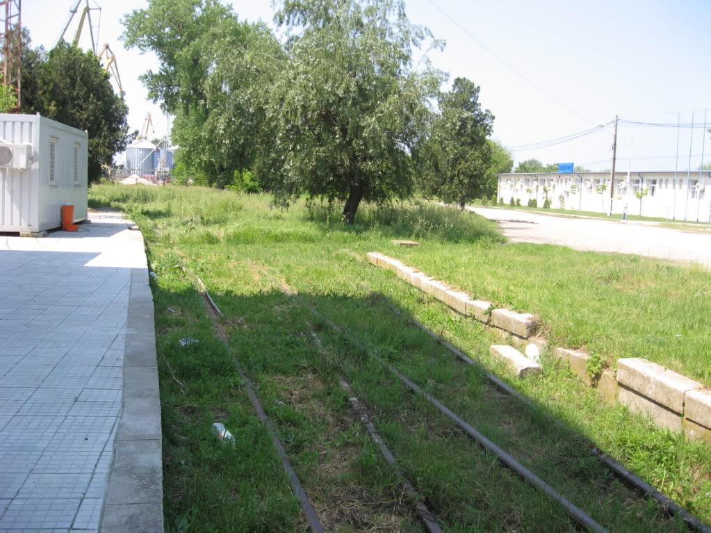 Liniile ferate industriale din Giurgiu 6-1