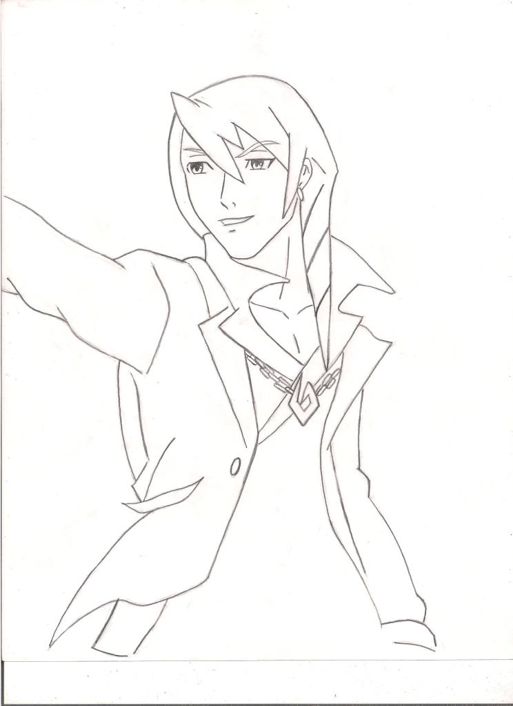 My Drawings  AceAttorney
