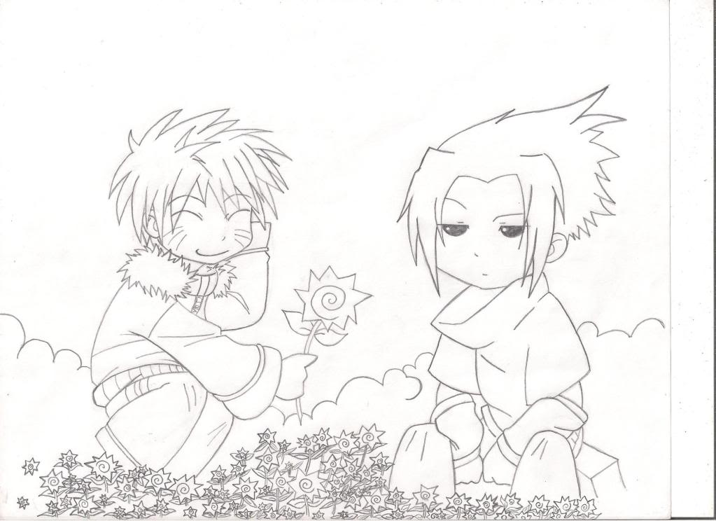 My Drawings  Naru-Chibi
