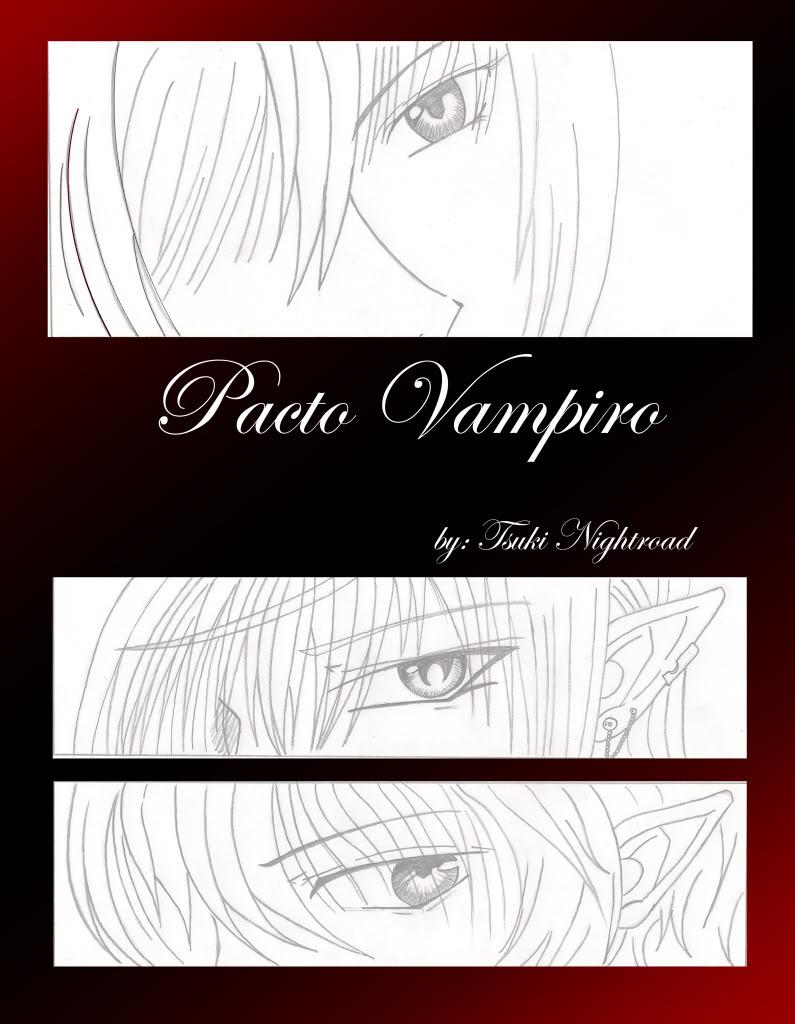 My Drawings  PortadadePactoVampiro