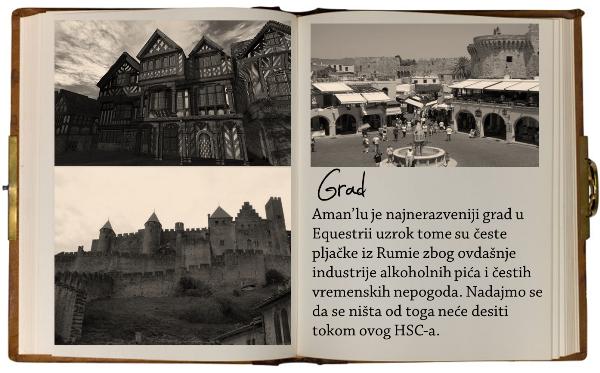 HSC 112 ~ Informations ~ Aman'lu, Equestria ~ A medieval story... 1GRAD